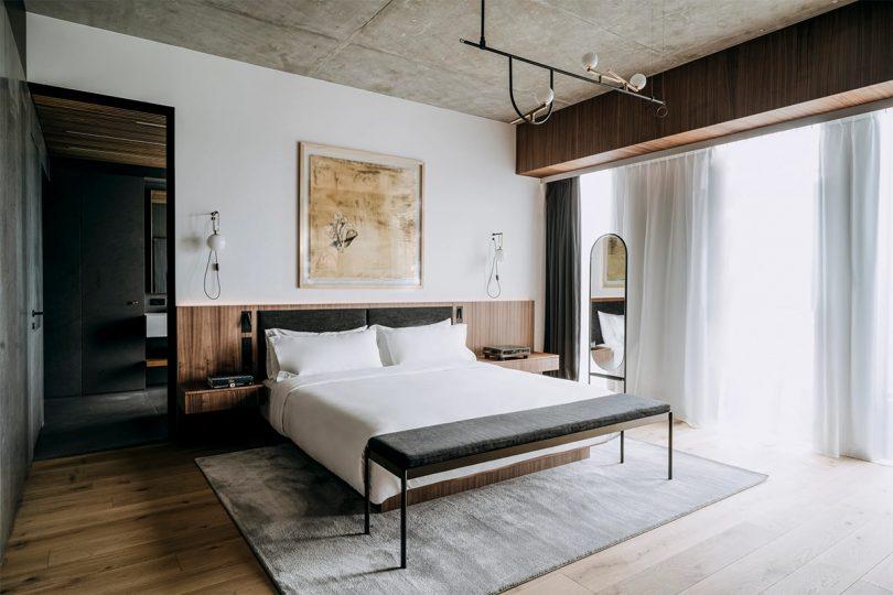 Nobu Hotel Warsaw bedroom