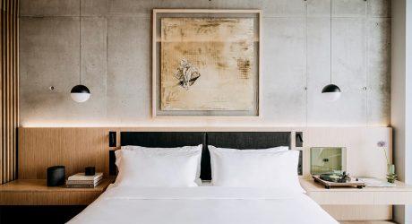 Artful Minimalism Frames Art Deco History at Newly Opened Nobu Hotel Warsaw