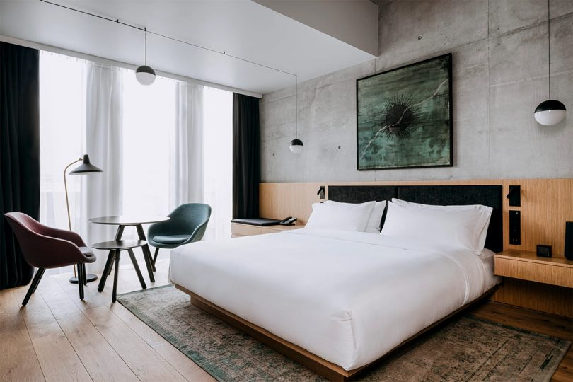 Nobu Hotel Warsaw bed