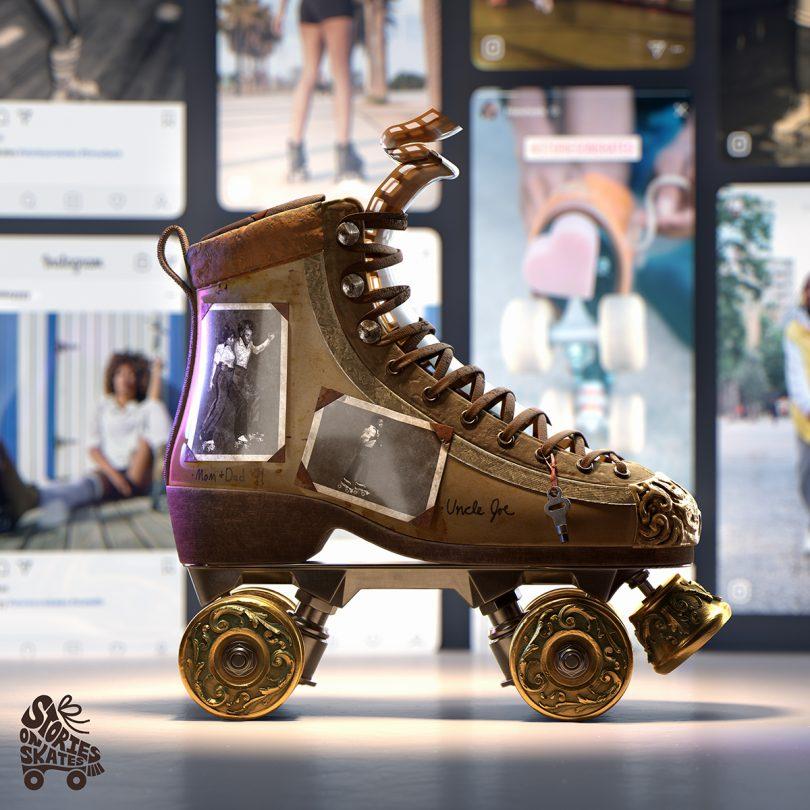 Stories on Skates 3D model