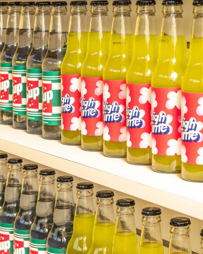 bottled cannabis beverages