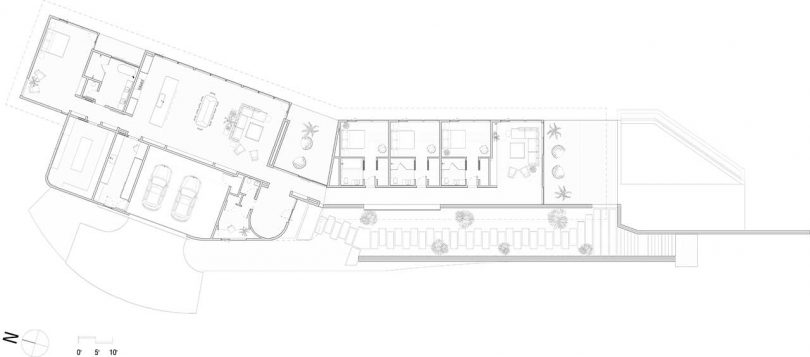 layout of modern home