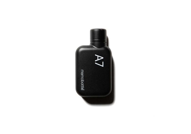 small A7 black water bottle