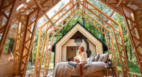 ANNA Stay: A Cozy Modern Cabin That Opens to the Elements