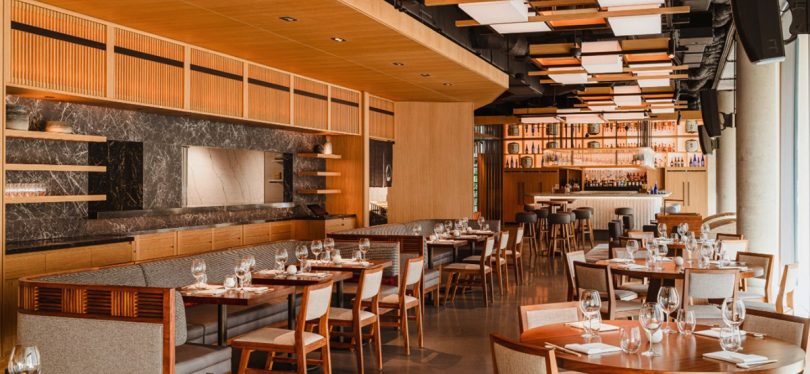 Nobu Warsaw dining room