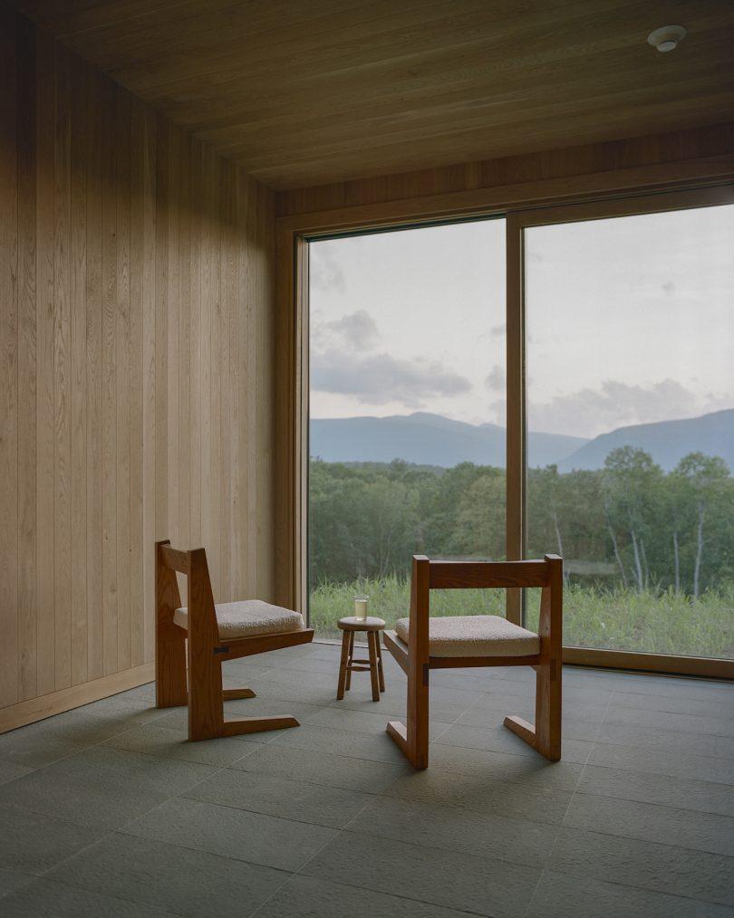 Interior of Piaule spa