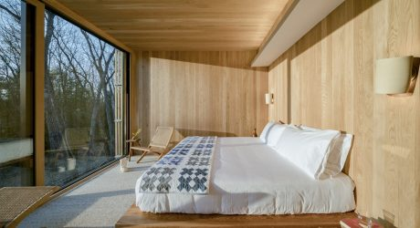 Piaule Catskill Is a 'Landscape Hotel' of Cabins in Upstate New York
