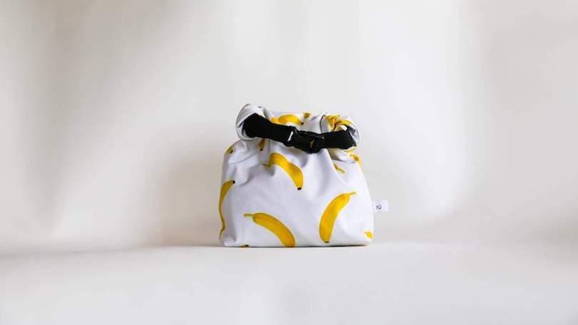 reusable banana lunch bag