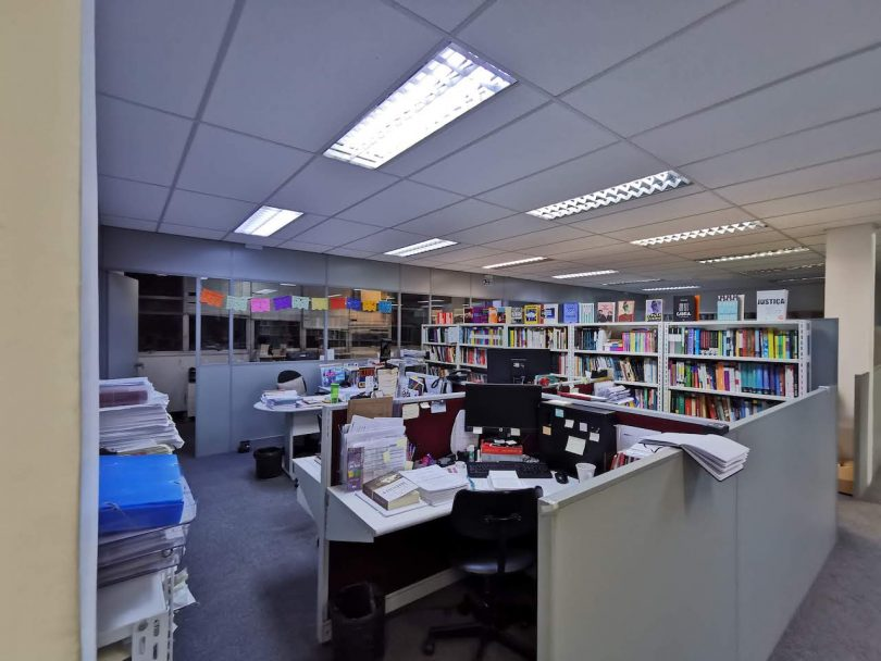 outdated office