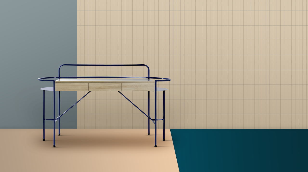 The Table Cápsula Was Designed For Professionals Working From Home