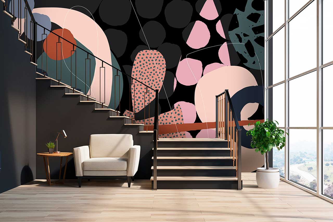 Alex Proba Wallpaper Turns Your Walls Into Visually Enticing Works of Art