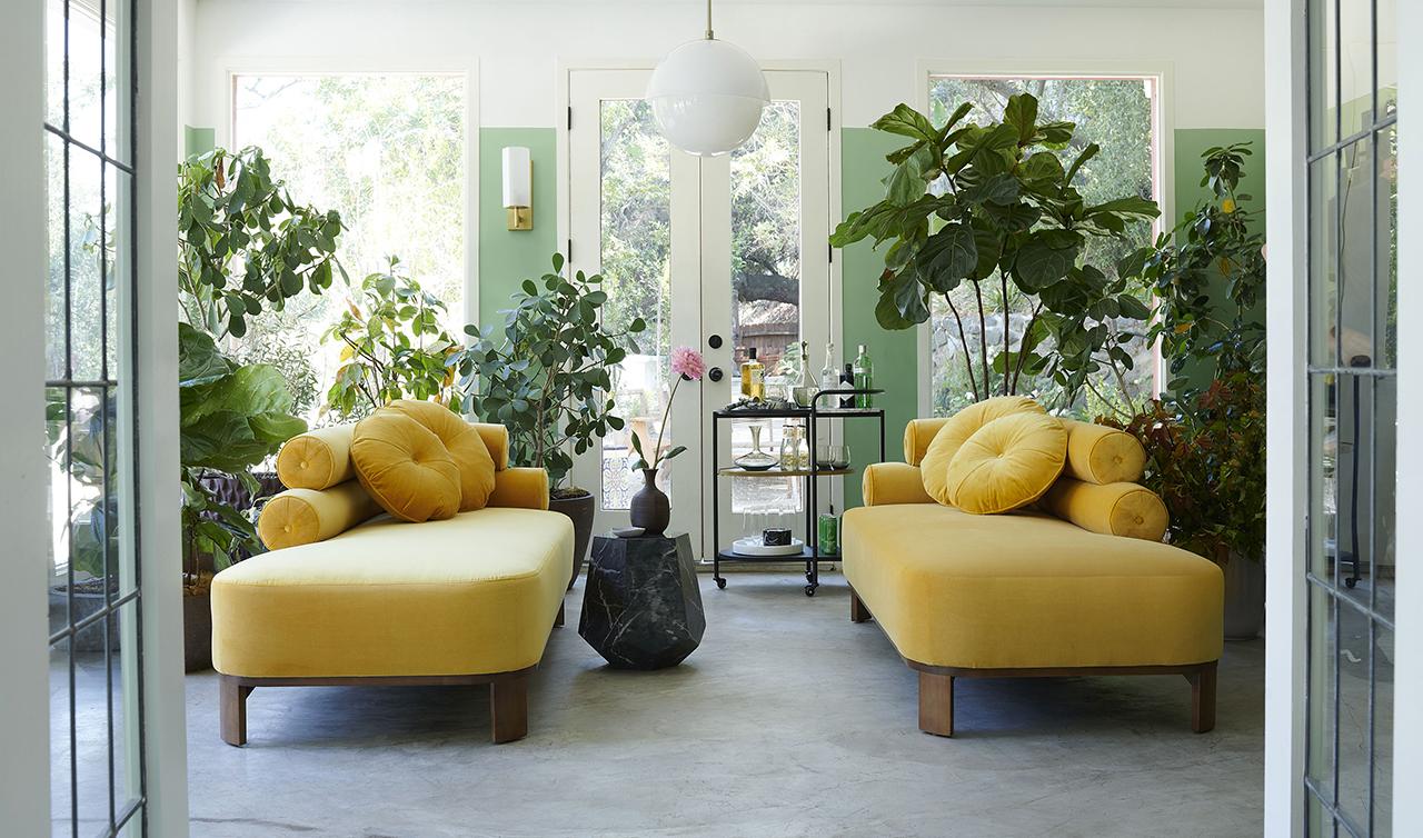 Brigette Romanek x Mitchell Gold + Bob Williams Create Curvaceous Furniture
