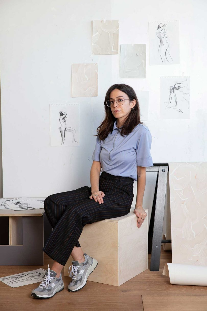 The Pandemic Inspires Jess Murphy to Design Wallpaper for The Lawns