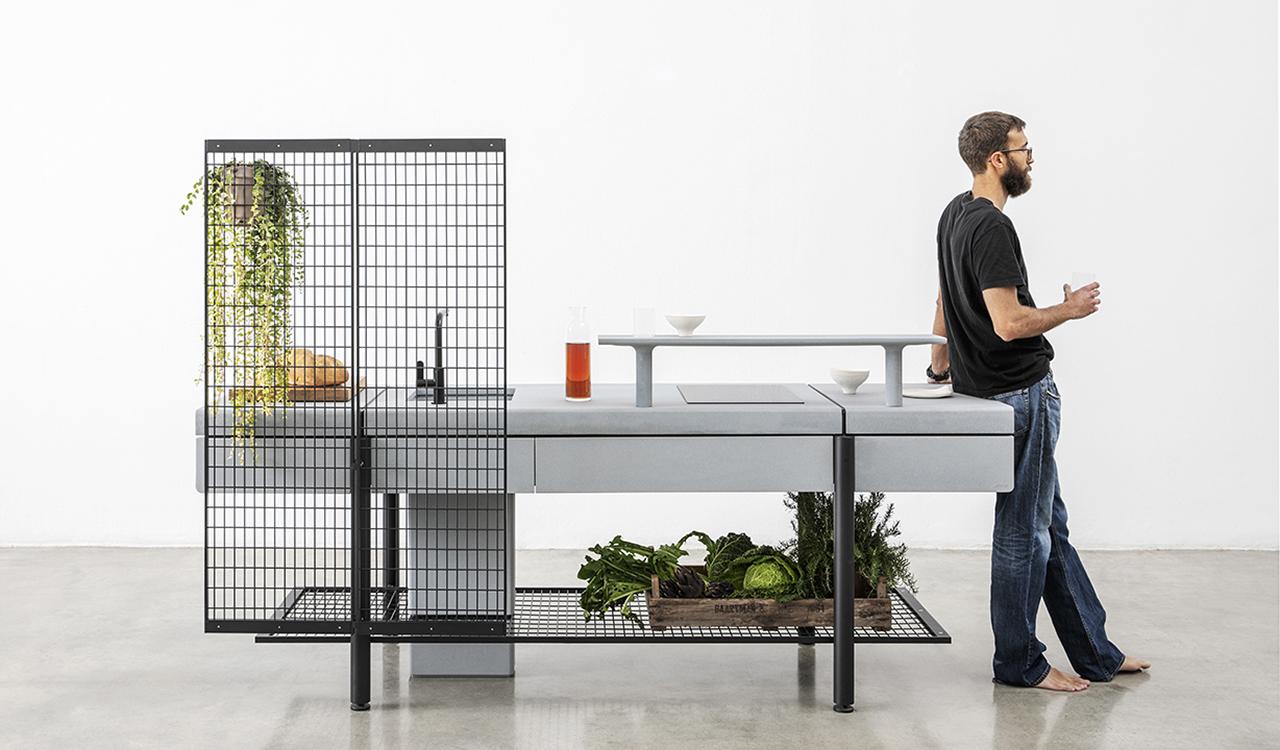The Libera Outdoor Kitchen Is Versatile + Intuitive Design