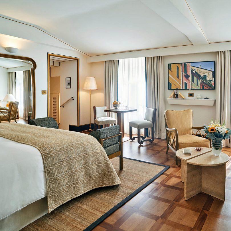 interior room of luxury hotel