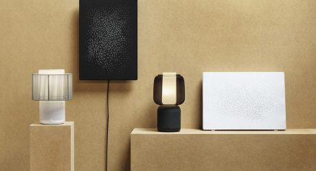 IKEA and Sonos Launch Acoustically Updated SYMFONISK Table Lamp Speaker