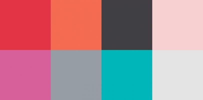 vibrant color palette of Lowe's paint colors