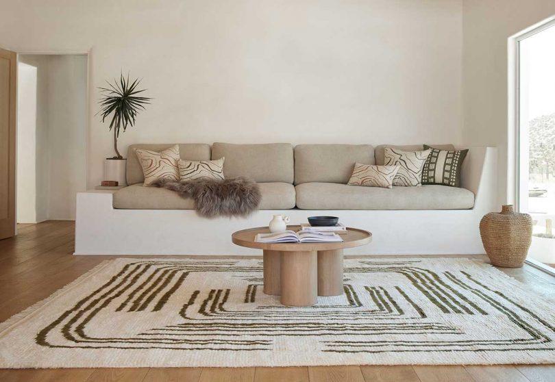 Lulu and Georgia Release Organic + Modern Rugs by Designer Élan Byrd