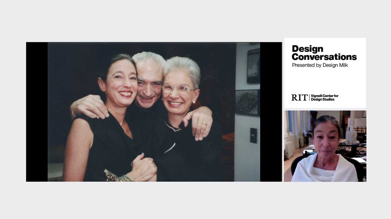 Design Is Two: Artist Michele Oka Doner on the Vignelli's Legacy