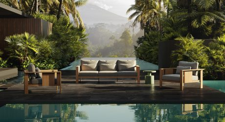 Live + Relax With the Architectural BEAM Outdoor Furniture Collection