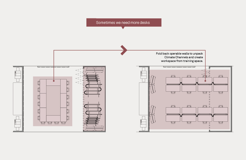 diagram of office layout configuration