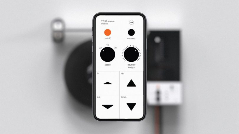app for wall mounted modern turntable
