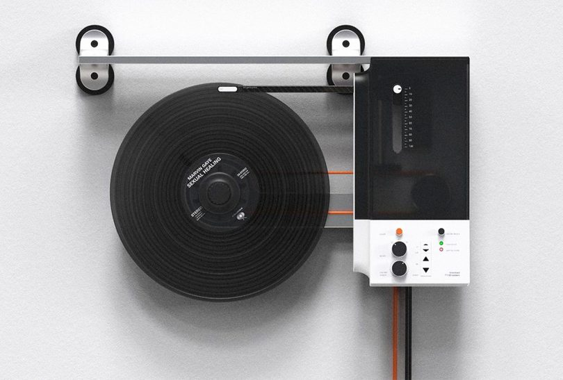The TT-90 System Turntable Will Drive You up the Wall