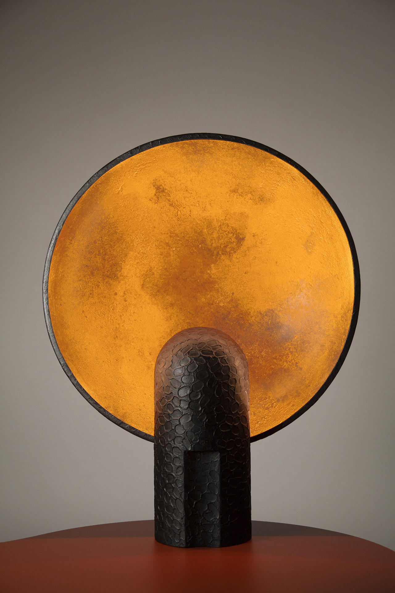 black and gold wall lamp