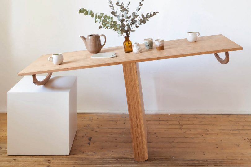 lopsided table
