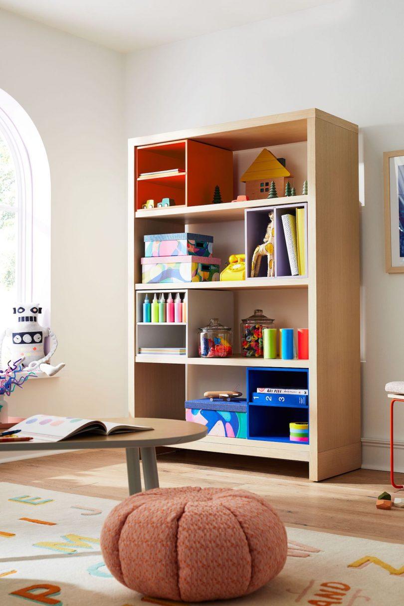 estante para niños