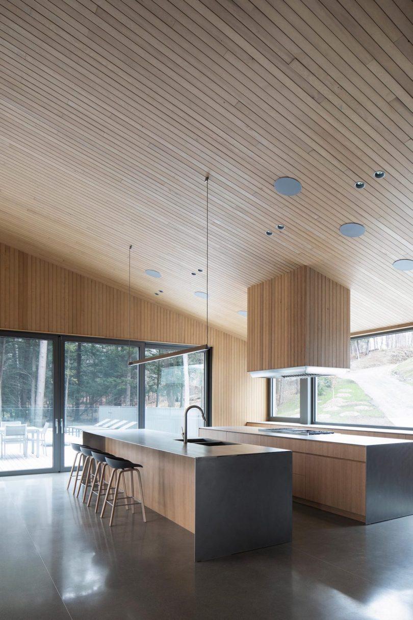 Isometric shot of kitchen