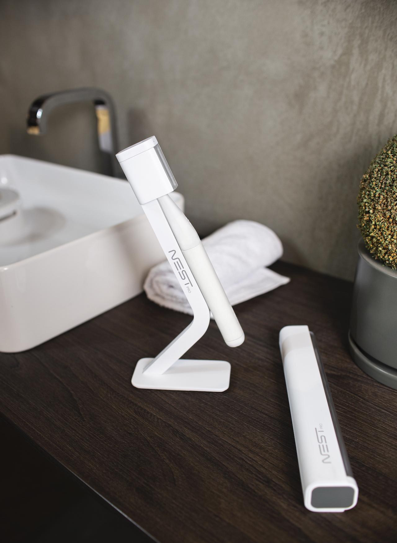 modern toothbrush