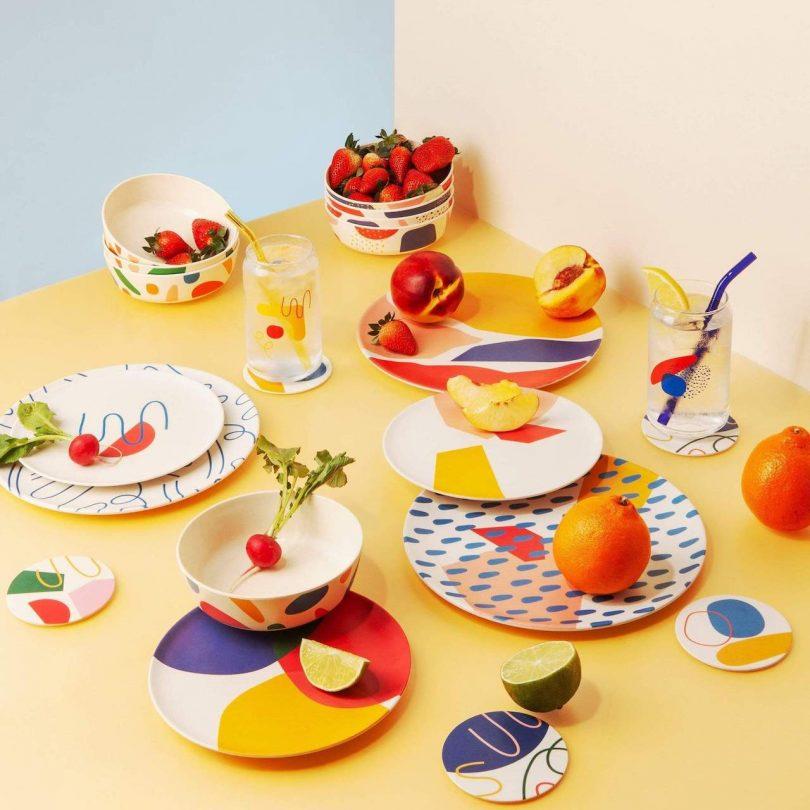 reusable plates and bowl