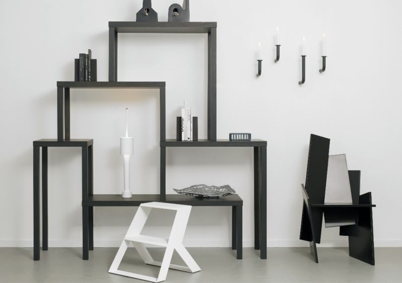 Studio Frederik Roije products in a room