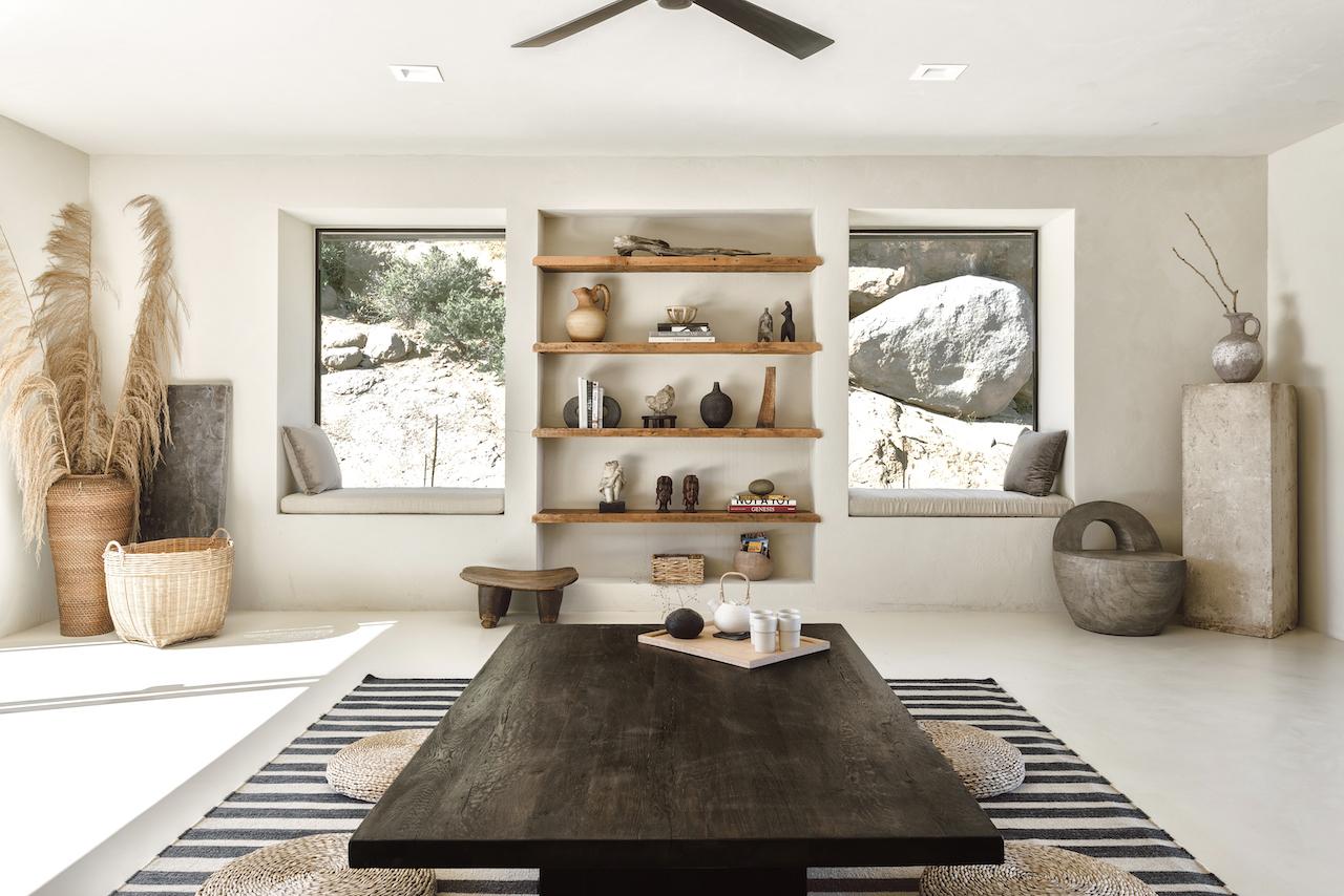 Villa Kuro: A Desert Home in California Inspired by Japanese Wabi Sabi Philosophies