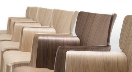 The Adela Rex Seating Collection Demonstrates the Beauty + Sustainability of Plywood
