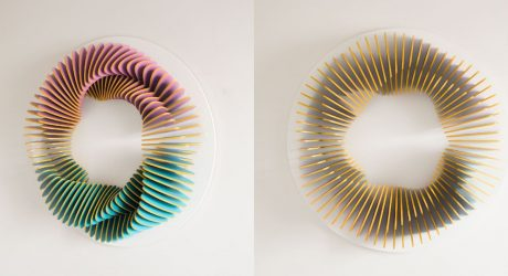 Take 5: Rhythmic Wall Sculptures, a Game of Storytelling + More