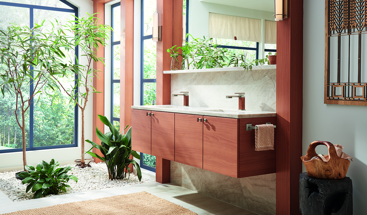 The Thoughtfully Designed Frank Lloyd Wright® Bath Collection by Brizo®