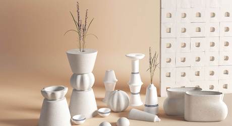 Disharee Mathur Turns Damaged Sinks and Toilets Into Vases and Accessories