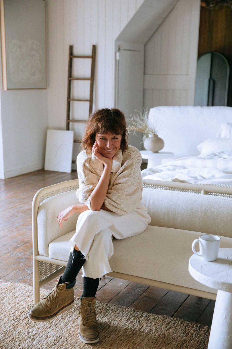 designer Leanne Ford in living space
