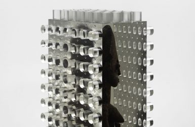 Resin-Fossilized and Machine-Cut: The Art of Matthew Angelo Harrison