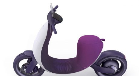 The Nebula Alpha's 3D-Knitted Seating Softens a Futuristic Ride