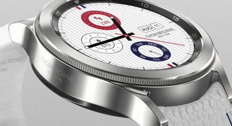 Galaxy Watch4 Classic Thom Browne Edition Introduces a Strapping Design
