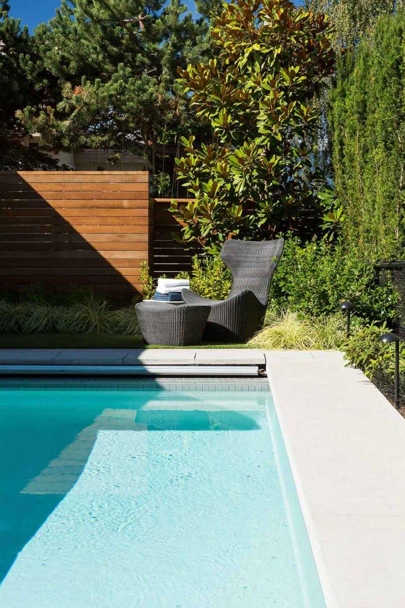 view of modern swimming pool