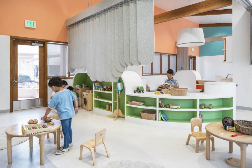 Perkins&Will Creates The Nest: A Design-Centric Preschool in Los Angeles