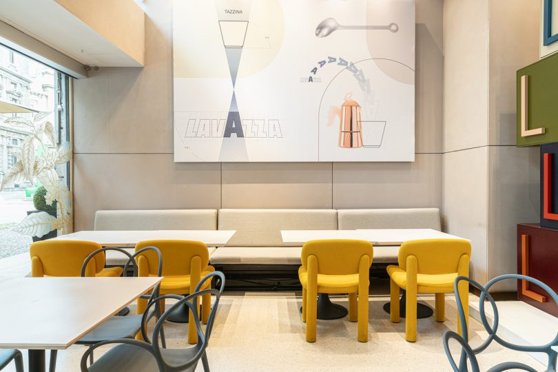 furniture in coffee store