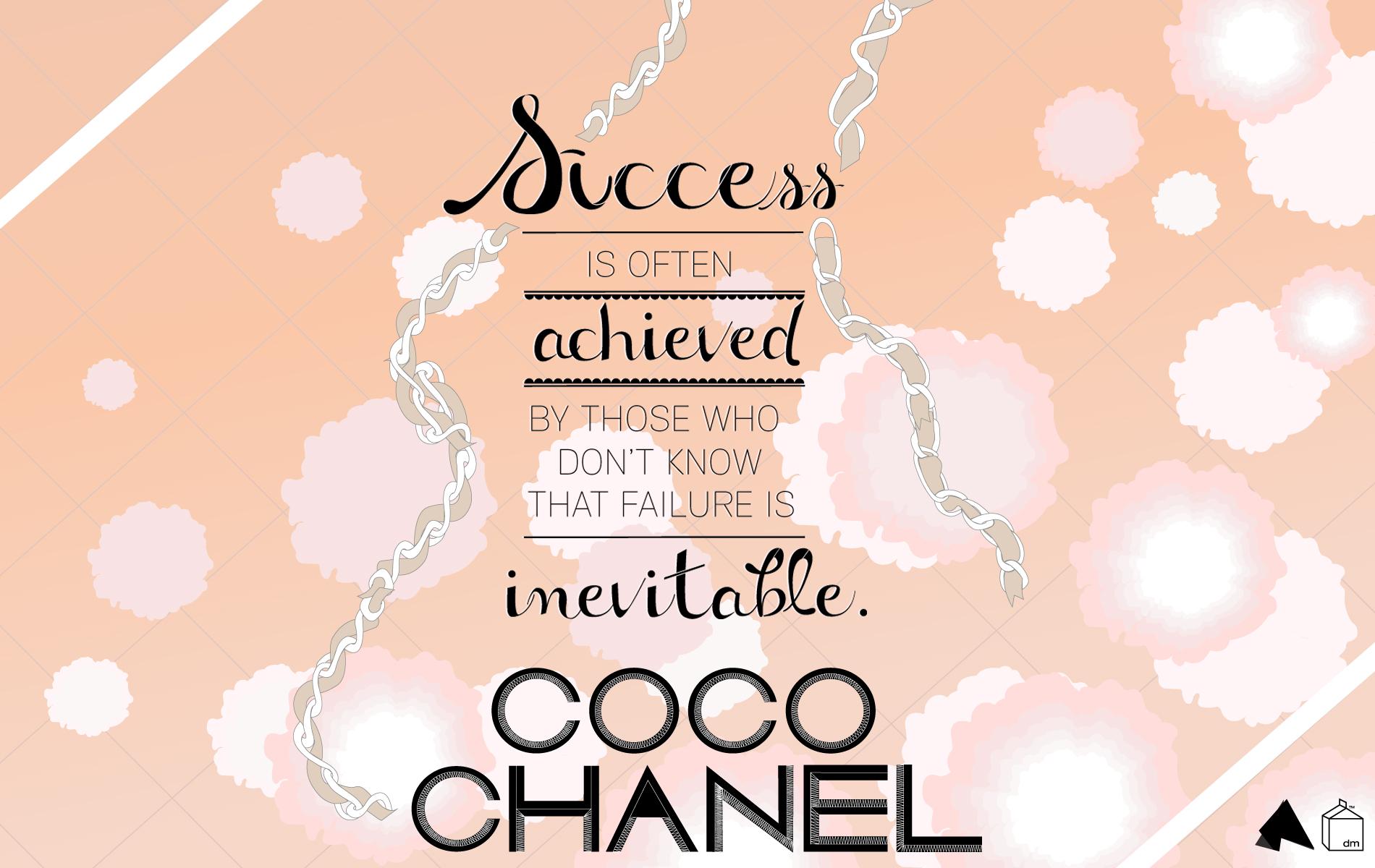 chanel quotes desktop wallpaper quotesgram